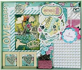 FaCraft Scrapbook Kit for Teenage Girls (8x8