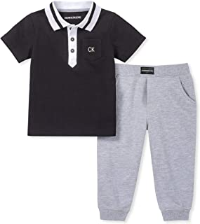 Baby Boys 2 Pieces Polo Set Pants
