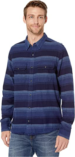 Medium Indigo Horizontal Stripe