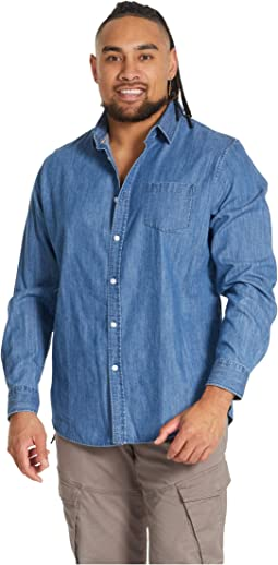 Big & Tall Tobin Denim Shirt