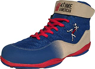 4 Time All American The Patriot, Blue Wrestling Shoes Youth Sizes 1-6
