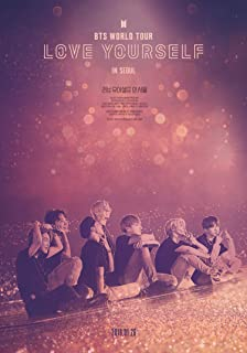 newhorizon BTS World Tour Love Yourself in Seoul Movie Poster 17'' x 24'' NOT A DVD