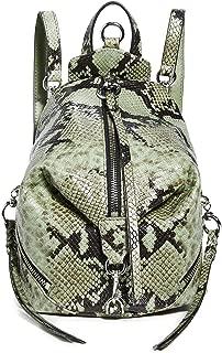 Rebecca Womens Snakeskin Clutch Bag Purse Flap Crossbody Handbags Retro Shoulder Messenger Chain Bags