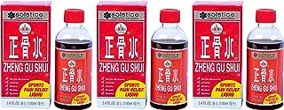 Zheng Gu Shui External Analgesic Liquid 3.4 Ounces, Pack of 3