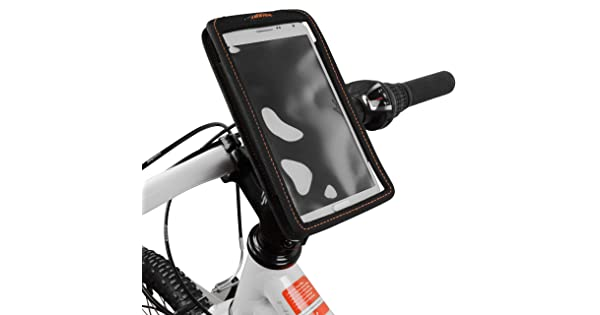 Ibera Spring-Loaded Bicycle Stem Mount Phone Cases with Adjustable Angle BV USA Enterprises IB-Q5 Only Compatible Cases