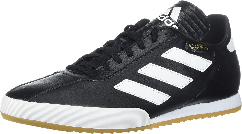 Adidas Originals Men's Copa Super Soccer shoes, Black White gold Metallic, 8 M US