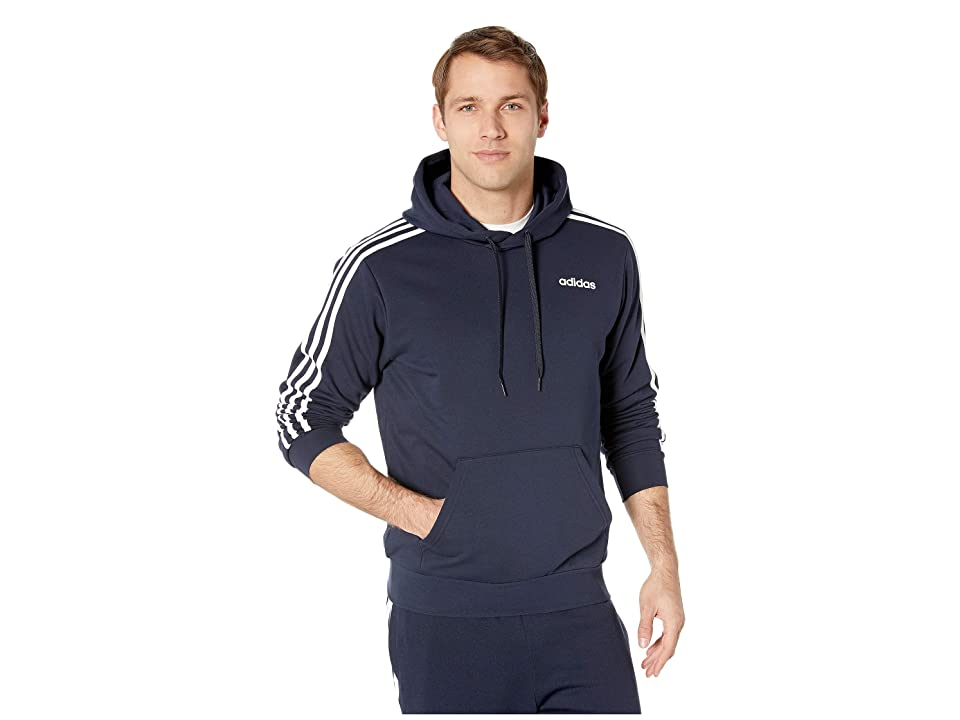 adidas Essentials 3-Stripes Pullover French Terry (Legend Ink/White) Men