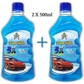 JPT CAR WASH FOAM SHAPOO WITH ADVANCE 3X FOAM FORMULA (1 LTR)