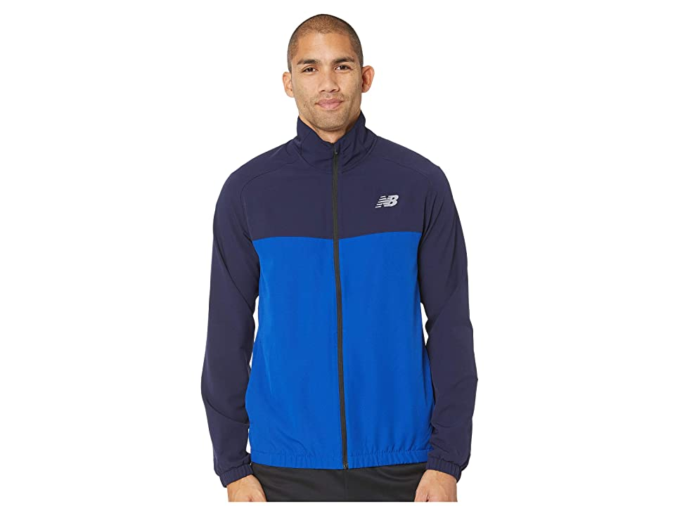 New Balance Tenacity Woven Jacket (Team Royal) Men