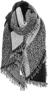 WOKKOL Bufanda Mujer Invierno, Mantón Mujer, Pashmina Mujer, Poncho Mujer Invierno, Bufanda Mujer Invierno Tela de Cachemi...