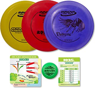 Driven Disc Golf Starter Set - Disc Colors Vary