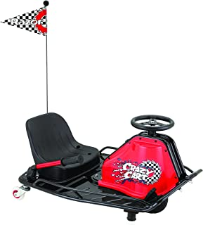Razor 2014 Model Crazy Cart 2014-Carrito de Golf, Color Negro y Rojo