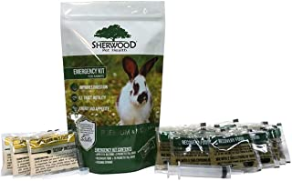 Pet Rabbit Emergency Kit with Timothy Recovery Food (Small Emergency Kit)
