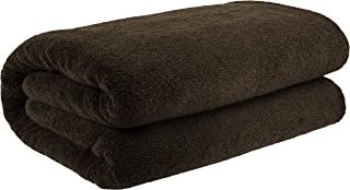 40x80 Inches Jumbo Size, Thick and Large 650 GSM Bath Sheet Cotton, Luxury Hotel & Spa Quality, Absorbent and Soft Decorative Kitchen and Bathroom Turkish Towels, Chocolate Brown