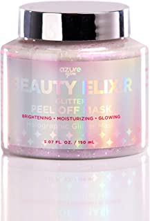 Beauty Elixir Holographic Peel Off Moisturizing Mask - Reduces Wrinkles, Fine Lines & Acne Scars | Removes Blackheads & Dirt and Oil | Repairs Uneven Skin Tone - 150mL