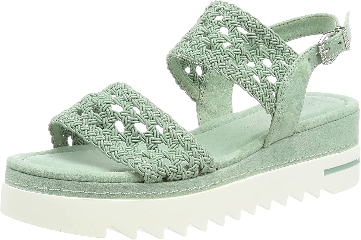 MARCO TOZZI Women's 2-2-28741-36 Same day shipping 9.5 Sage Sandale Overseas parallel import regular item