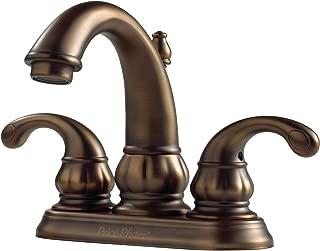 Pfister F048DV00 Treviso 2-Handle 4 Inch Centerset Bathroom Faucet in Velvet Aged Bronze