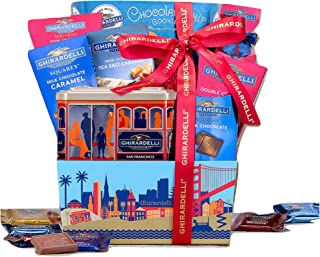 Ghirardelli Gift Basket by Wine Country Gift Baskets. Gourmet Chocolate Gift Basket For Family Gifts, Retirement Gifts, Just Because, Celebration Gifts, Appreciation Gifts, Thank You Gifts