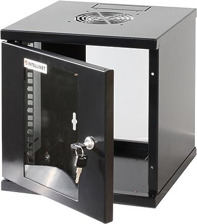 "Intellinet Armadio Rack 10"" a muro 6 unità I-CASE EM-1006BK - Confronta prezzi"