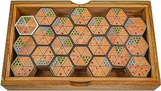 DND Und Andere Tischspiele QueenHome W/ürfel Tablett Metel W/ürfel Rollendes Tablett Sechseck Mit Leder Faltbares Tablett F/ür Tischplatte RPG D /& D Pathfinder Rollenspiel F/ür RPG