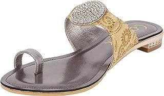 Catwalk Silver Slip-on Sandals