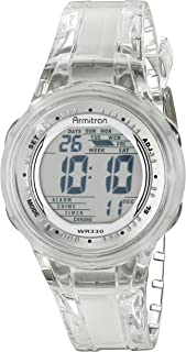 Armitron Sport Women's 45/7051 Digital Jelly Strap Watch