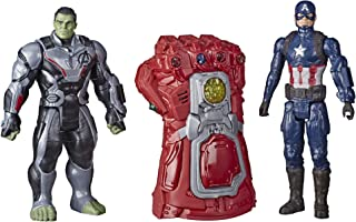 Marvel Avengers: Endgame - Infinity Gauntlet Electronic Fist with Thanos and Iron Man Action Figures
