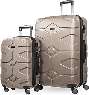 HAUPTSTADTKOFFER - X-Kölln - podróże na kółkach, TSA, małe i duże, zestaw walizek, 76 cm, 150 litrów, złoty