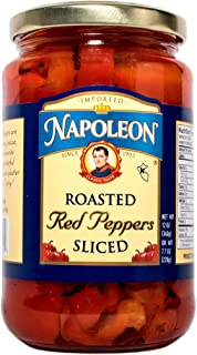 Napoleon Sliced Roasted Red Peppers, 12 Ounce (Pack of 12)