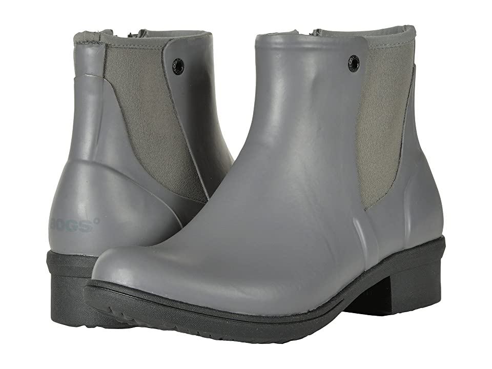 Bogs Auburn Rubber (Gray) Women