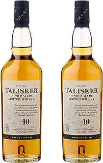 Talisker 10 Jahre, 2er, Single Malt, Schottland, Whisky, Scotch, Alkohol, Alkoholgetränk, Flasche, 45.8%, 200 ml, 677132