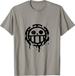 Trafalgar Law t-shirt cosplay costumes t-shirt