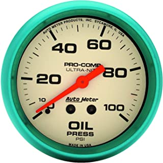 Allstar ALL80136 2-5//8 Diameter 0-15 PSI Mechanical Auto Meter Pro Comp Fuel Pressure Gauge Allstar Performance