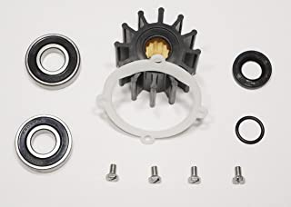 StayCoolPumps Impeller Repair Service Kit Replaces Johnson 09-45808 Plus Bearings F5B-9 Pump 10-24228-1