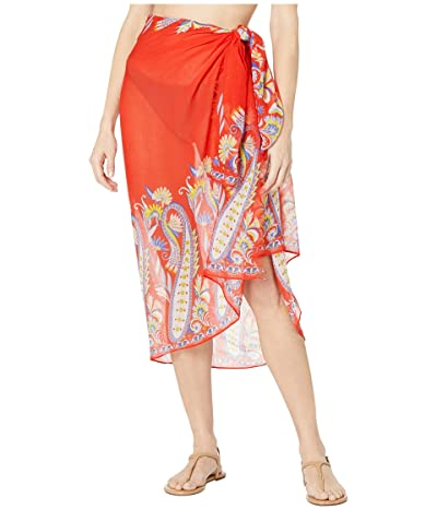 Echo New York Paisley Pareo Wrap (Passion Flower) Women