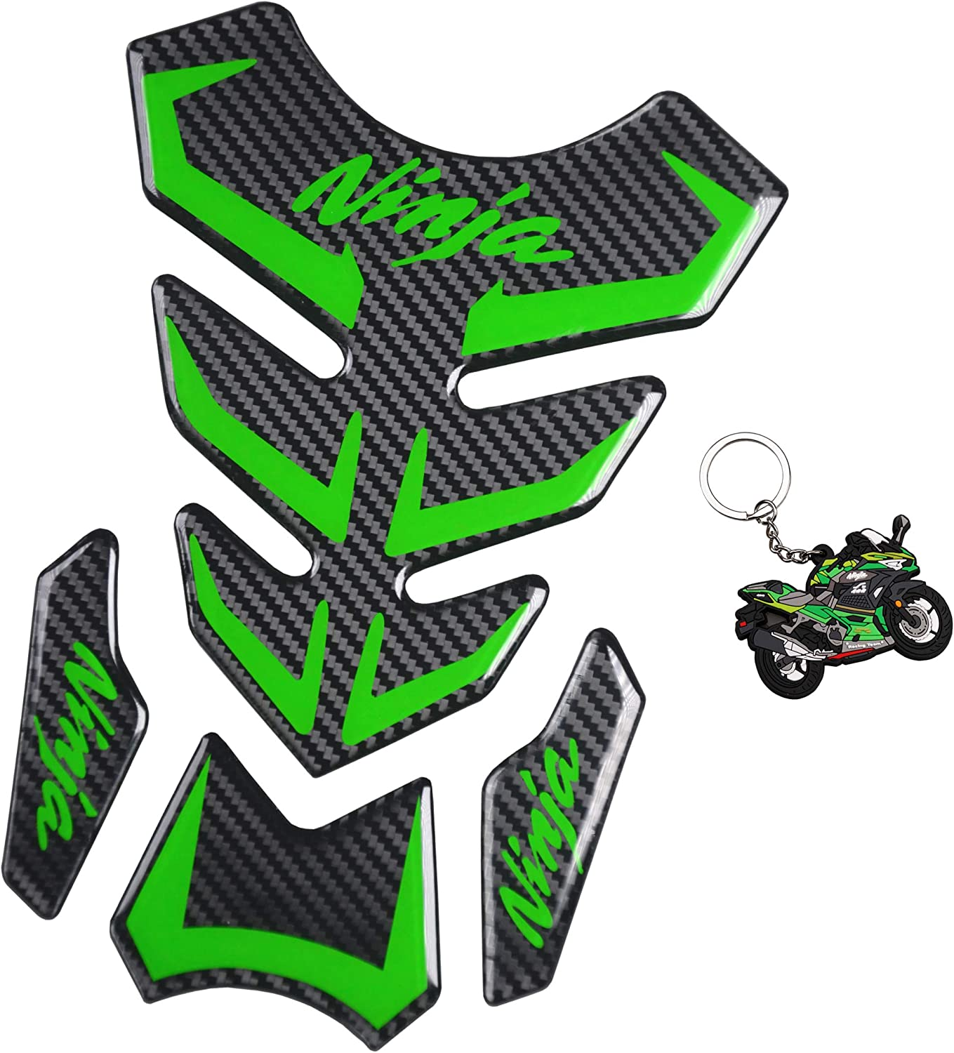 Elegant REVSOSTAR 5D Real Carbon Fiber Prot Tank A surprise price is realized Vinyl Decal Motorcycle