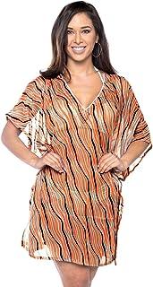 LA LEELA Cubierta de Playa Casual Bikini de la Gasa de Las Mujeres hasta 1116