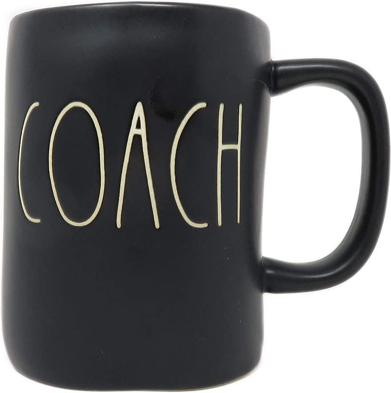 Rae Dunn Coach Mug Black
