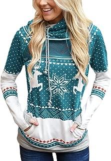 reindeer double hoodie
