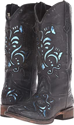 Roper Laser Cut Metallic Underlay Boot