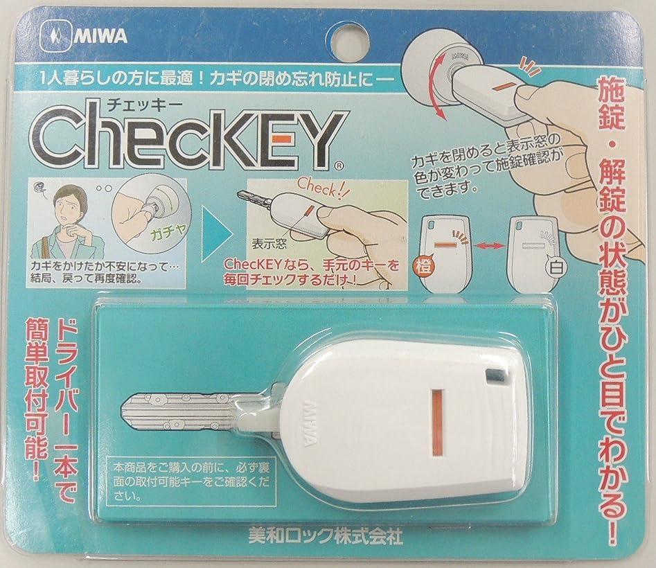 地元熟達したバタフライ美和ロック ChecKEY カギの閉め忘れ防止 M00023-0