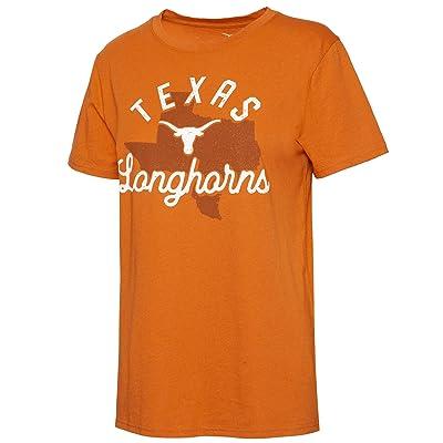 289c Apparel Texas Longhorns Mclain Tee (Texas Orange) Women