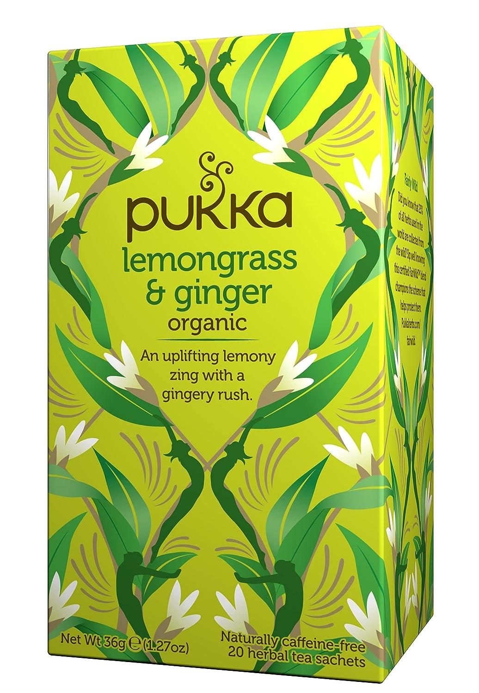 Recommendation Lemongrass Ginger Herbal Soldering Tea - Fair Bags Organic