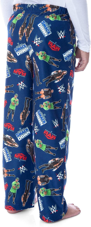 WWE Boys' John Cena Randy Orton AJ Styles Superstars Sleep Pajama Pants