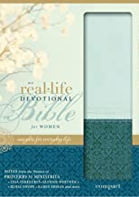 NIV, Real-Life Devotional Bible for Women, Compact, Leathersoft, Teal: Insights for Everyday Life
