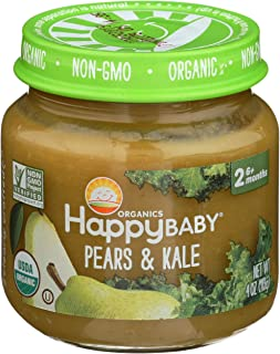 HAPPY Organic Stage Pears Baby
