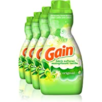 4-Pack Gain Original Liquid Fabric Softener (41 fl oz)