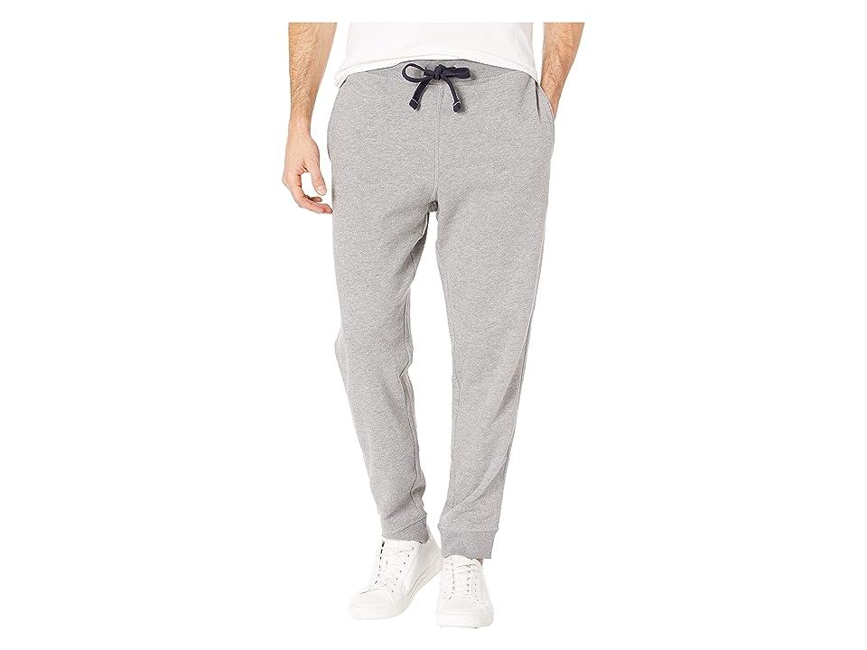 Nautica Knit Pants w/ Rib Cuff (Stone Grey Heather) Men