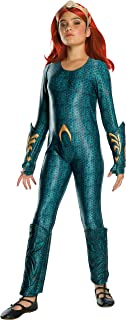 Rubie's Girls Aquaman Movie Child's Deluxe Mera Costume, Small