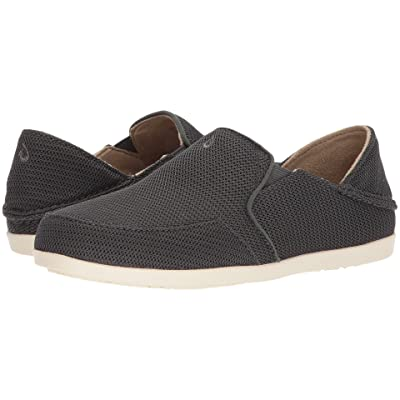 OluKai Waialua Mesh (Dark Shadow/Dark Shadow) Women